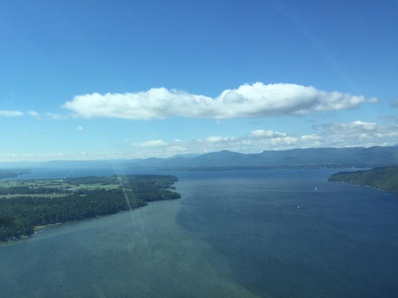 A new report from Treasurer Beth Pearce will set the stage for a debate in Montpelier over how to reduce pollution flowing into Lake Champlain, seen in this picture, and other Vermont waterways.