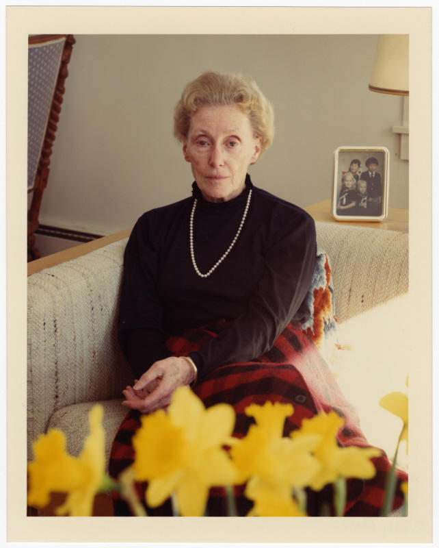 A postwar portrait of Dutch rescuer Marion Pritchard taken in 1988 in Vermont. Pritchard lived in Vershire for many years; she died earlier this month at the age of 96.