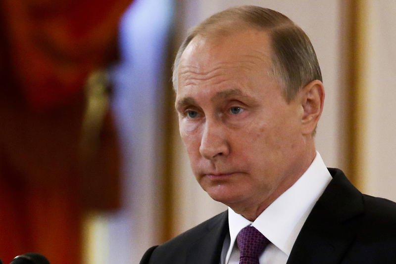 Russian President Vladimir Putin in Moscow on Nov. 9. More than 50 electors, including one from Vermont, have signed an open letter demanding intelligence briefings on foreign intervention in America's presidential election.