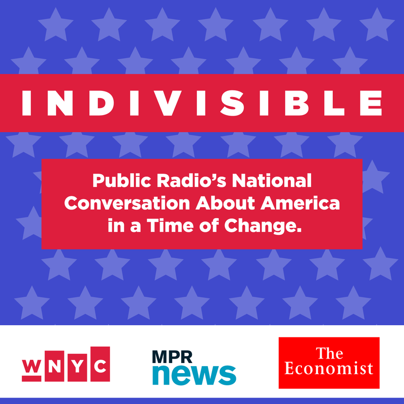 Indivisible will air Monday through Thursday night on VPR at 8:00 pm Starting Jan. 23, 2017.