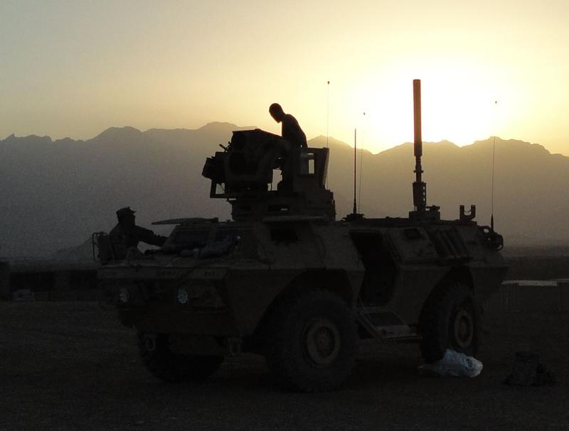 Members of the Vermont Army Guard were deployed in Afghanistan in 2010.