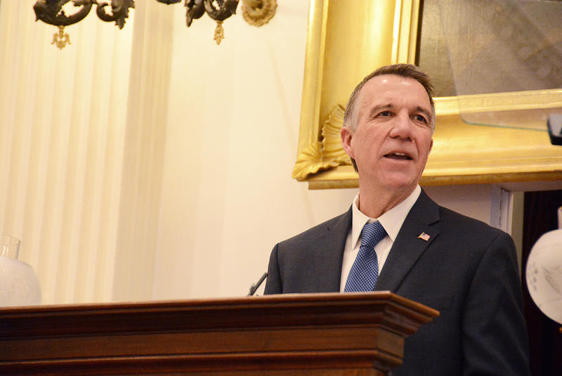 Gov. Phil Scott has come up with a budget formula that he says will curb spending levels, and avoid tax increases.