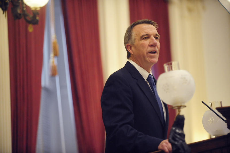 Gov. Phil Scott wants the Legislature to force school boards across the state to impose a spending freeze on local education budgets.