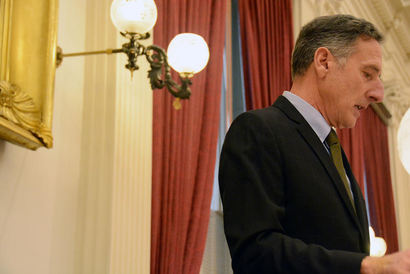 In his final remarks before the Vermont Legislature Wednesday, Gov. Peter Shumlin reflected on the successes and stumbling points of his six years in office.