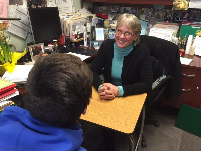 Cindy Stanton is director of special education at St. Johnsbury Academy. Vermont's largest private high schools offer special education, but some of the other independent schools that take public money are not approved to serve every disability.