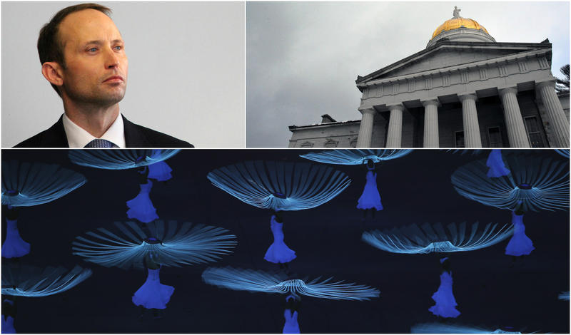 "This hour we talk with outgoing U.S Attorney Eric Miller; Neal Goswami on the Statehouse's response to Trump's immigration orders; and Moses Pendleton, who choreographed the ""Doves of Peace"" segment for the opening ceremony of the Sochi Olympics."