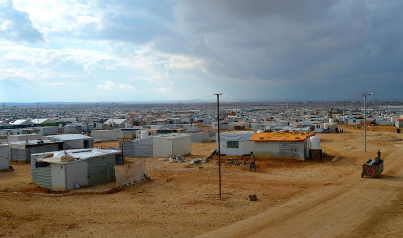 The Zaatari refugee camp near the Jordan-Syria border is home to about 80,000 Syrians (nearly double the population of Burlington, Vt.) living in one-room, prefabricated buildings with limited access to electricity.