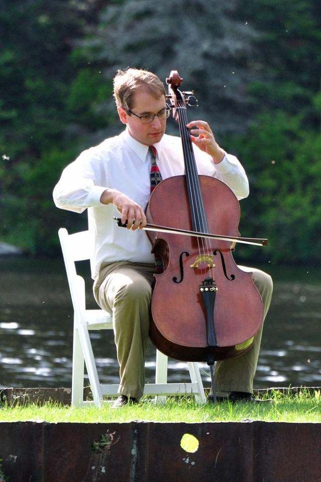 Cellist Ben Kulp plays music by Battista, Ligeti, and Cassado on Saturday at 3pm in Hanover.