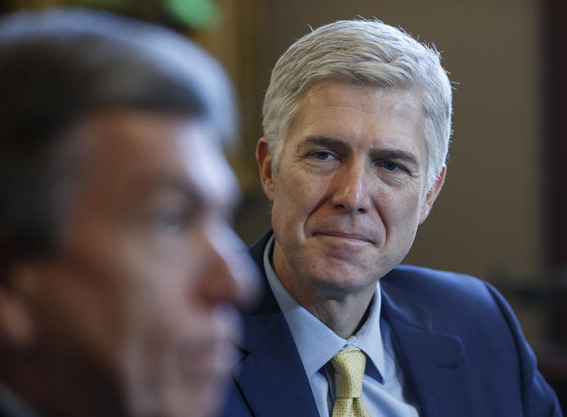 President Trump's nominee to the U.S. Supreme Court, Neil Gorsuch. Senators Patrick Leahy and Bernie Sanders plan to use upcoming meetings with the Federal Appeals Court judge to learn more about his judicial philosophy.