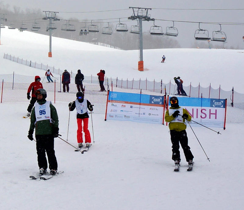 This week Stowe Mountain Resort hosted AIG's annual Winter Summit, which is part business retreat, part fundraising event and part ski racing camp.