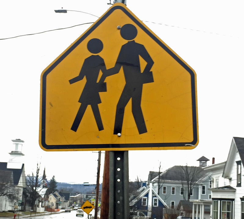 School crossing: Nearly 60 communities will vote on school district consolidation proposals at their annual town meetings.