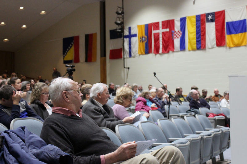 Residents at the Jericho town meeting voted through a motion requesting that town officials support state legislation that would require presidential candidates to release their tax returns.