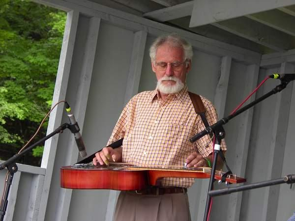 The late great north country dobro player Junior Barber
