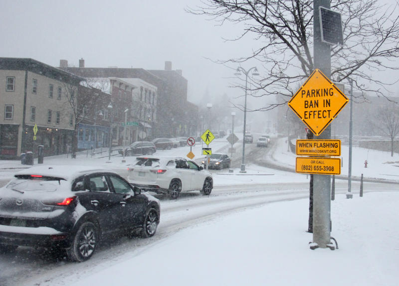 Officials advised Vermonters not to travel unless necessary Tuesday, citing poor road conditions.