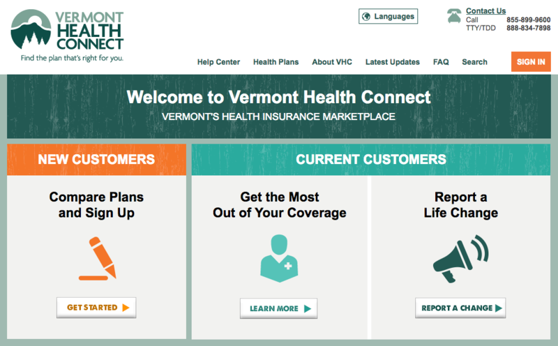 "On this ""Vermont Edition,"" we look at the performance of Vermont Health Connect, which had many problems when it first went online."