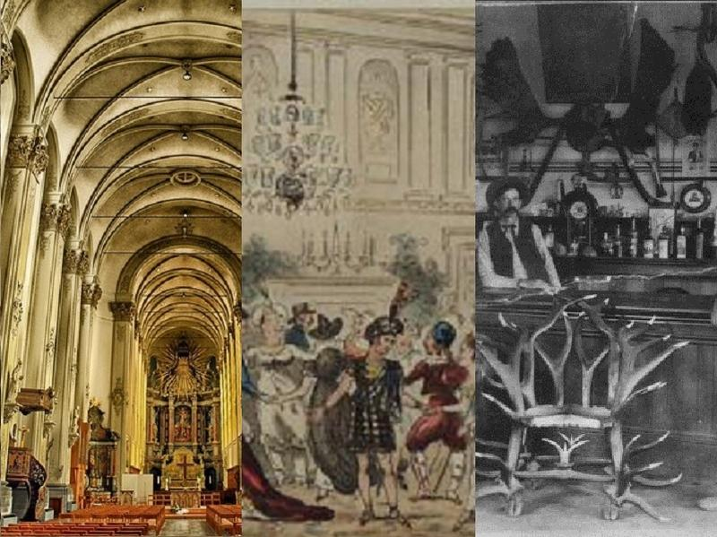 Throughout history music has been written to fill the hall or venue in which is was meant to be performed, whether it was a cathedral, a ballroom or a saloon.