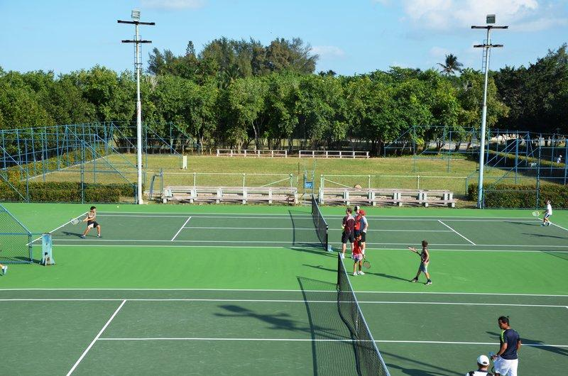 Jake Agna, founder of Kids on the Ball, led an effort to resurface courts at the National Tennis Center in Cuba. A ribbon cutting ceremony for the courts is being held on Thursday.