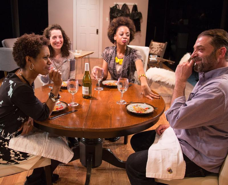 A still photos of the Vermont Stage production of 'The Call,' a play about cross-cultural adoption.