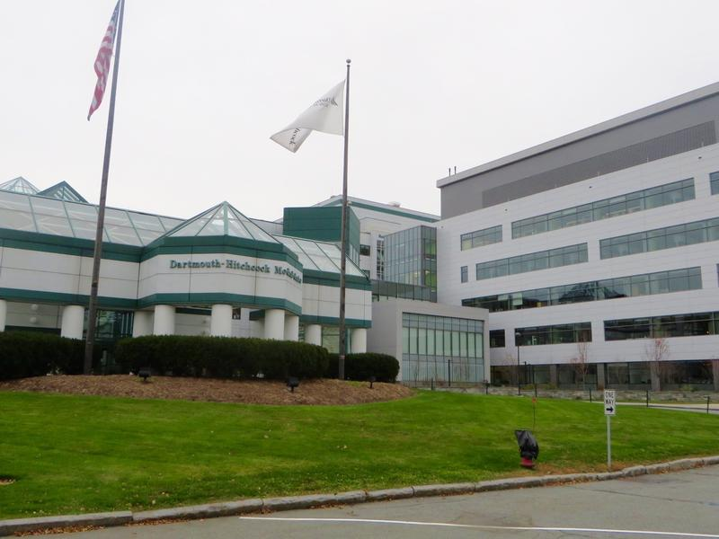Outside view of the Dartmouth Hitchcock Medical Center