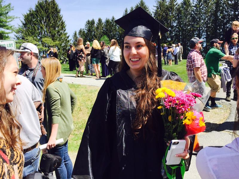 Kara Polito graduated from Vermont Technical College this month, and is taking a job in the agriculture department at Purdue Univsersity in Indiana.