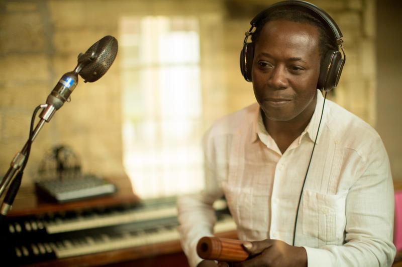 Garifuna musician Aurelio Martinez