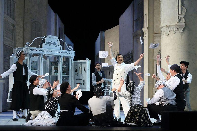 LA Opera's production of 'The Barber of Seville'