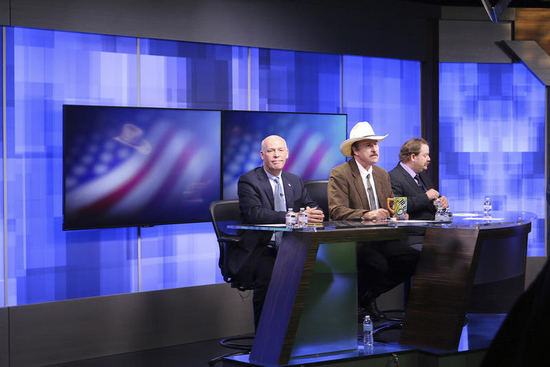 Republican Greg Gianforte, left, Democrat Rob Quist and Libertarian Mark Wicks are vying to fill Montana's only congressional seat. Sen. Bernie Sanders has been campaigning for Quist.