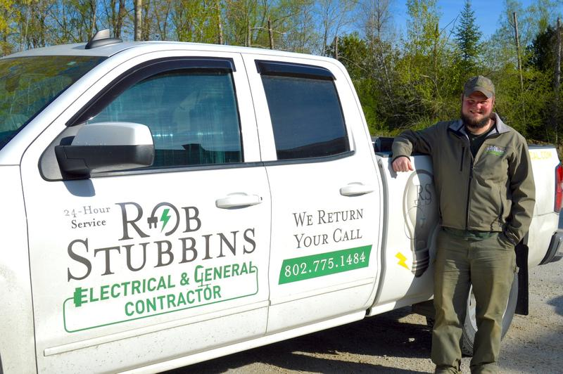 Robbie Stubbins runs the electrical contracting business started by his father nearly 20 years ago. He says the company now has 30 employees, and could grow even more if he could find more help.