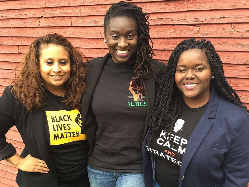 Vermont Law School students Alexis Agredo, Phanuelle Duchatelier, and Brittmy Martinez have all been named to the executive board of the National Black Law Students Association.