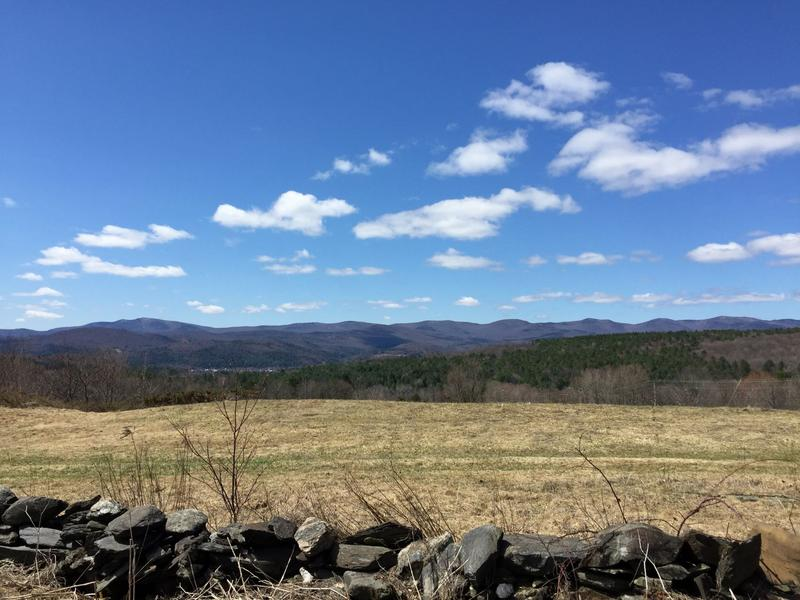 The 22-acre parcel provides travelers with a sweeping view of the mountains. one of the most scenic along Interstate 89.
