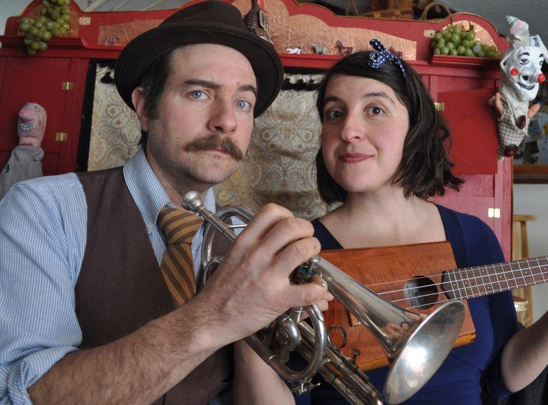 Justin Lander and Rose Friedman take their puppet and variety shows across the state every year. We'll hear about them and other performance and theater options in Vermont this summer.