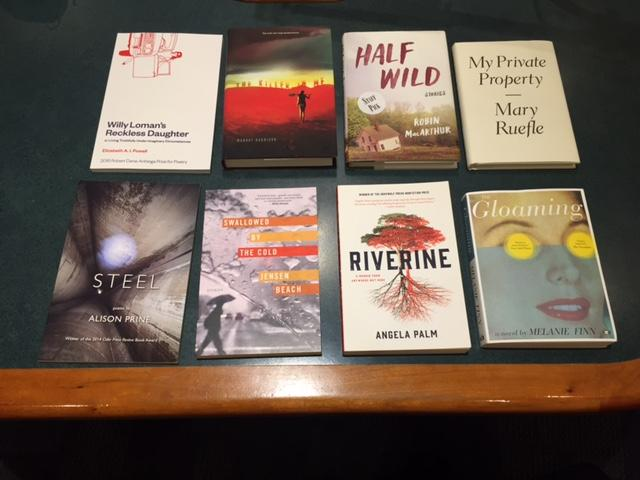 Eight books by local authors were announced as finalists for the Vermont Book Award. The winner will be announcedin September at a gala at Vermont College of Fine Arts.