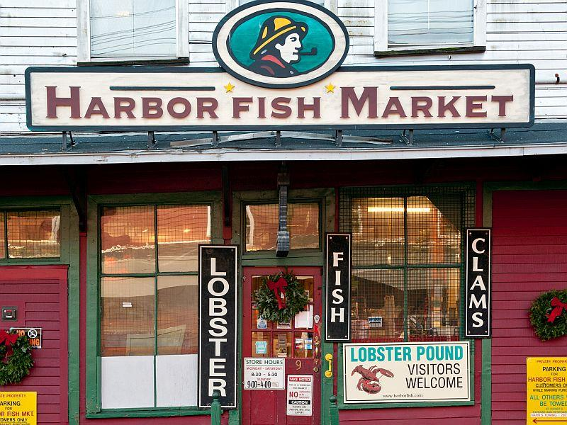 Travel writer Jen Rose Smith shares tips on New England road trips. She lists Portland, Maine – which is where the pictured Harbor Fish Market is located – as an outstanding food destination.