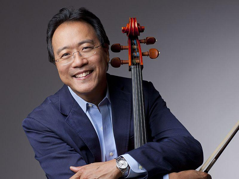 Cellist Yo-Yo Ma plays the Elgar Concerto with the BSO this week.