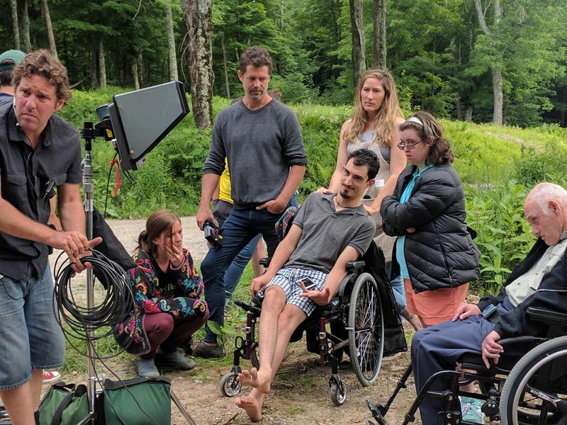 Campers at Zeno Mountain Farms spend a month living in wheelchair-accessible tree houses, performing, making films and taking care of one another.
