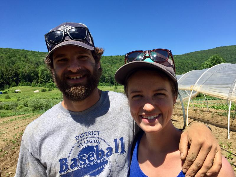 Jake Mendell and his fiance, Taylor Hutchison consider themselves lucky; the young farmers got their 30 acres of farm land from family.
