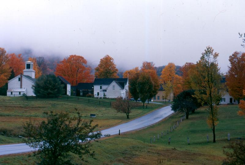"William W. Jenney is the Regional Historic Site Administrator at the President Calvin Coolidge State Historic Site. One of his favorite images of Plymouth Notch is one he likes to call ""Vermont's Brigadoon."""