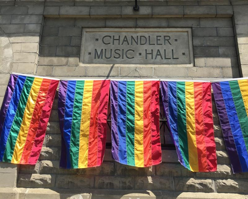 The Vermont Pride Theater Festival will be running the next two weekends at Randolph's Chandler Center for the Arts. After seven years, the Pride Theater Festival is an established part of the cultural life of Randolph.