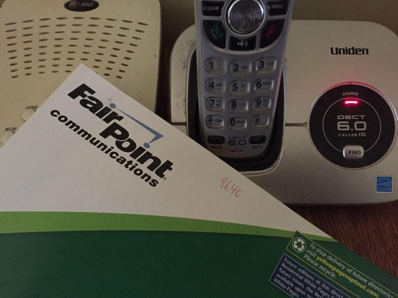 Fairpoint, now Consolidated Communications, is one of several companies still offering landline service in Vermont.