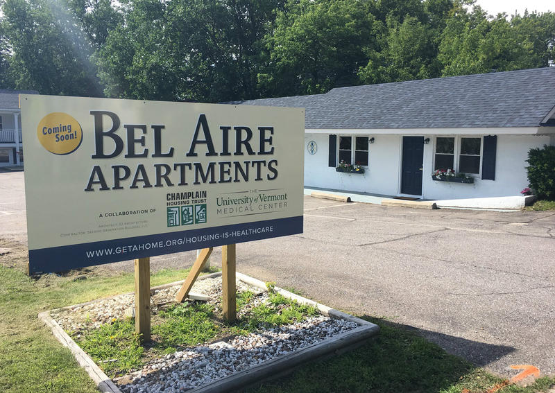 With funding from the University of Vermont Medical Center, the Champlain Housing Trust purchased and renovated a motel for use as housing for people who are chronically homeless.
