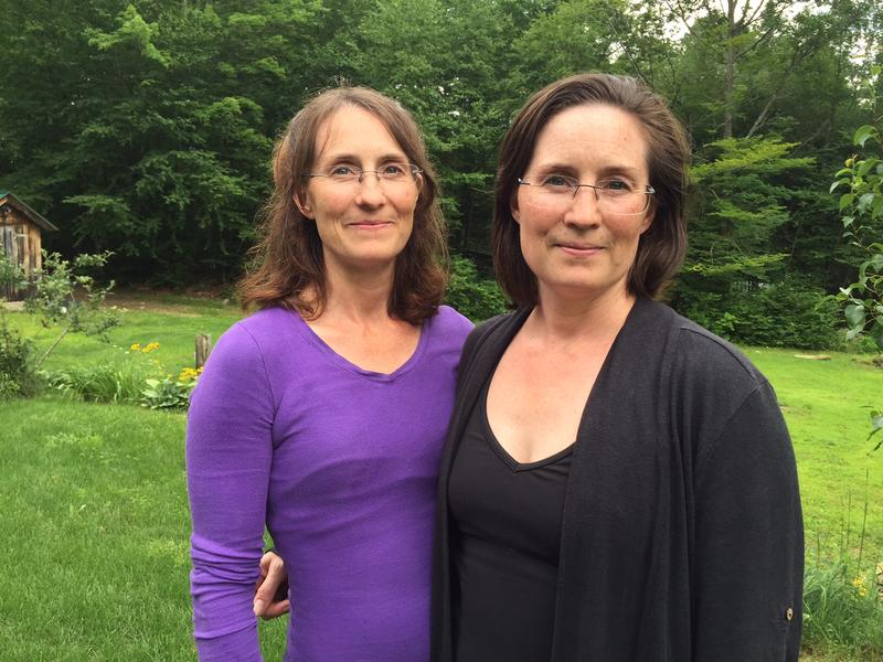 Serenity Smith Forchion, left, and her twin sister Elsie Smith started the New England Center for Circus Arts in Brattleboro. A volunteer board fired them this week.