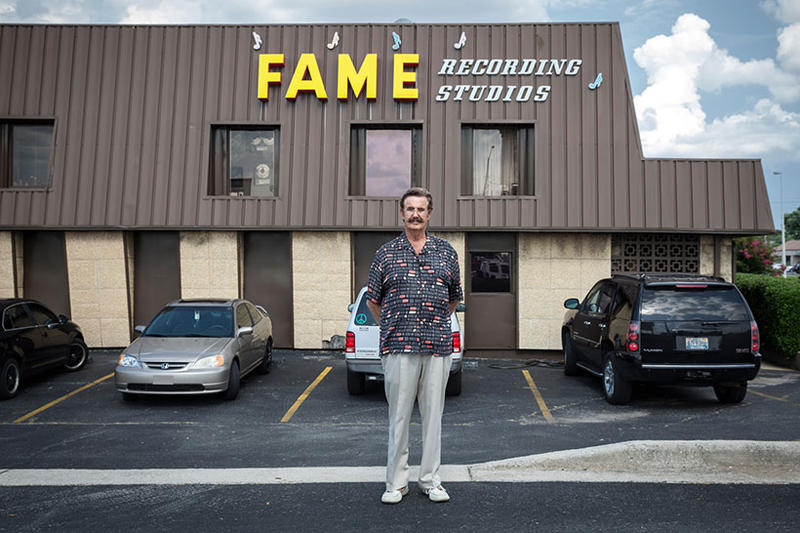 This week's My Place spotlights record producer Rick Hall and his Fame Recording Studios.