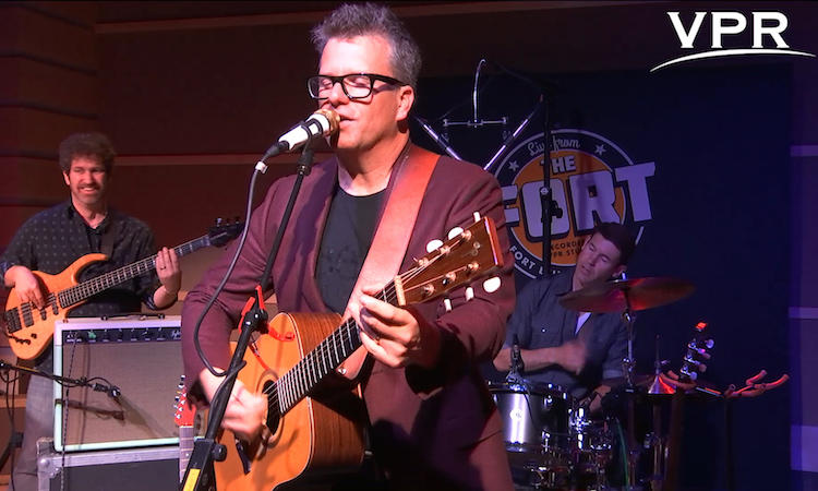 Watch the Chad Hollister Band's full performance, recorded live at VPR's Studio One in Fort Ethan Allen.