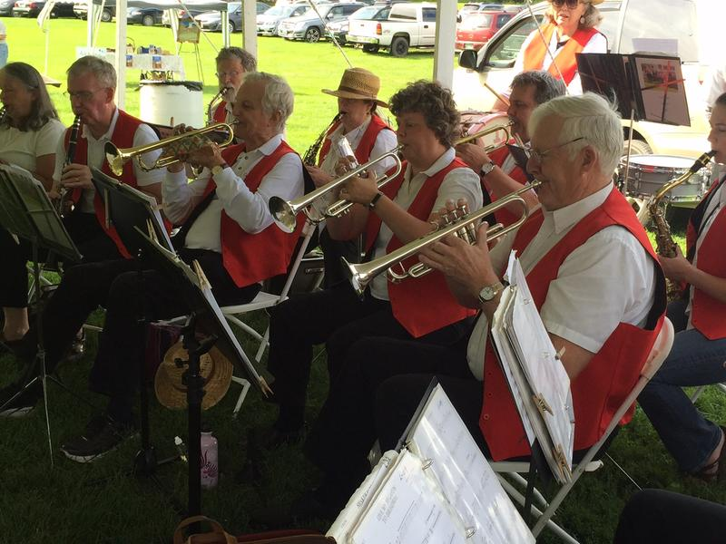 The Grafton Cornet Band played at this year's Grafton Town Picnic.