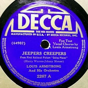 Johnny Mercer wrote songs for the likes of Louis Armstrong, Bing Crosby, and other notables.