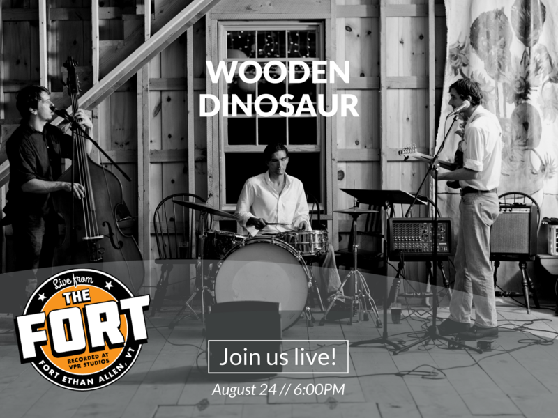 Wooden Dinosaur will record a concert for our series Live From The For on Thursday, August 24..
