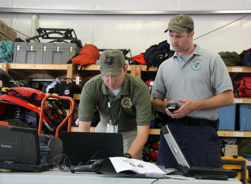 First responders from across Vermont form Task Force One, a special group that trains for disasters and other search and rescue operations. Members of the task force's swift water rescue team are deploying to Texas in the aftermath of storm Harvey.