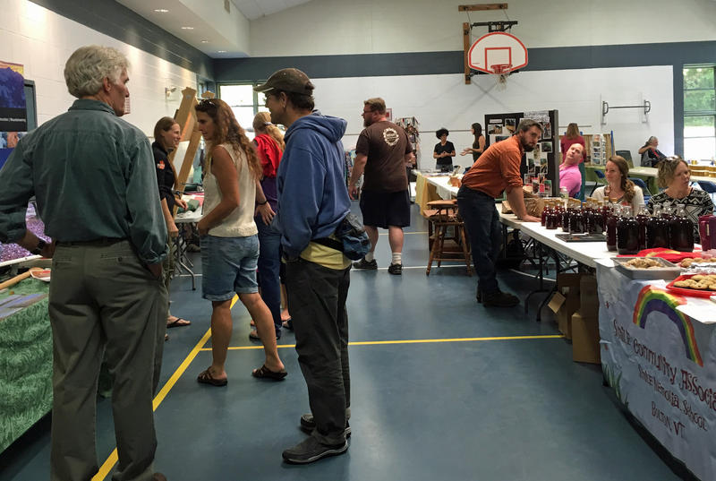 The inaugural Bolton Community Fair, pictured here, was held last year at Smilie Memorial School. This year's fair will take place at Bolton Valley's Nordic Center on Saturday, Sept. 16.