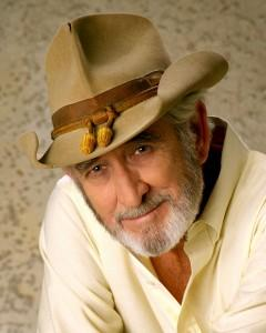 Country music icon Don Williams
