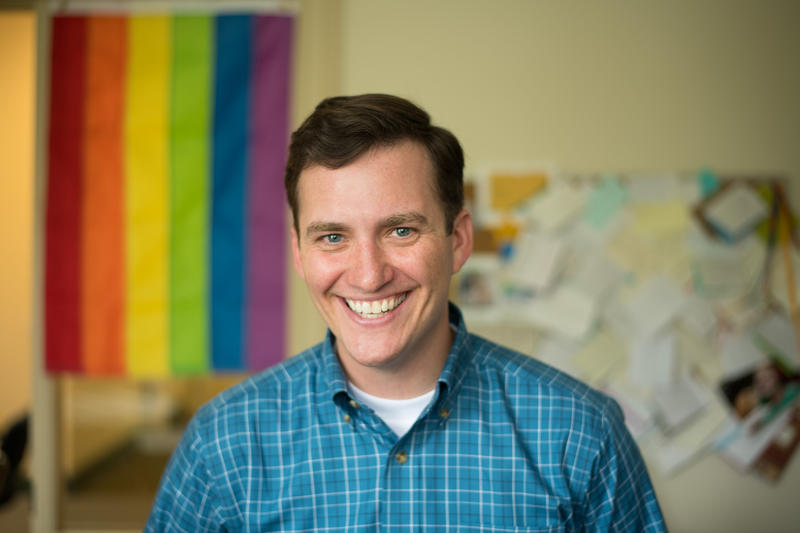 UVM Professor Jay Garvey is the author of a new study looking at campus climate for LGBTQ undergraduate students.